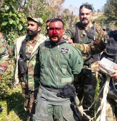 Abhinandan Varthaman captured by Pakistan Army