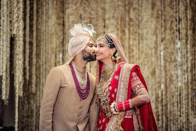 Anand Ahuja with Sonam Kapoor Wedding