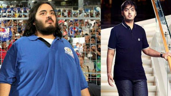 Anant Ambani before and  after loosing weight