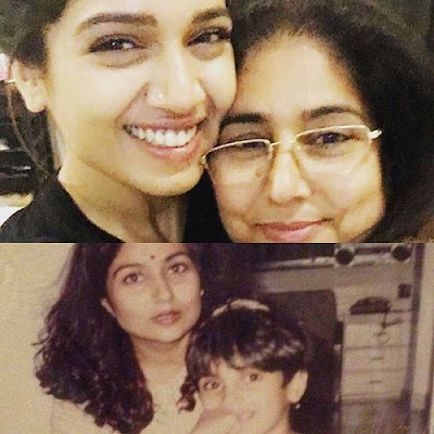 Bhumi with Mother