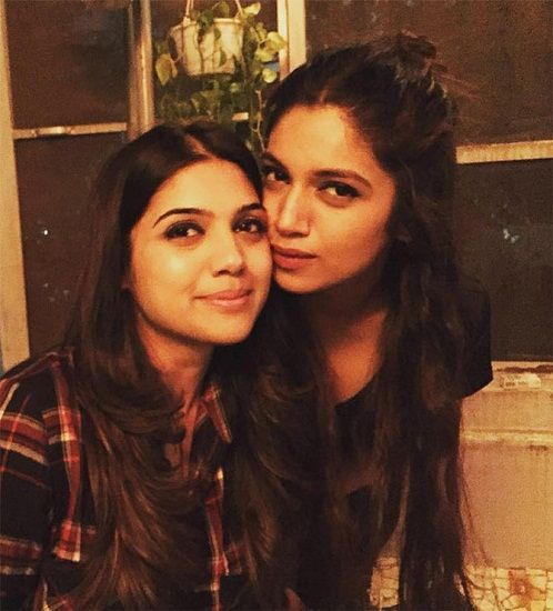 Bhumi with Sister