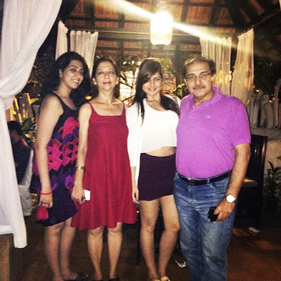 Deepika Ghose with Father Mother & Sister