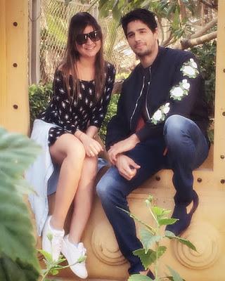 Deepika with Siddharth Malhotra