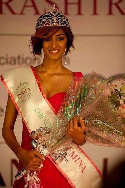 Erica Fernandes Miss Maharashtra 2011