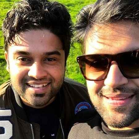 Guru Randhawa with his brother Ramkeen