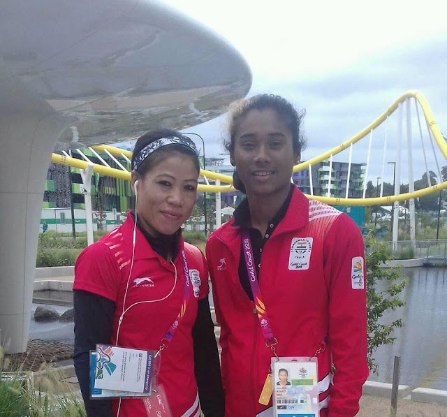 Hima Das Common Wealth Game