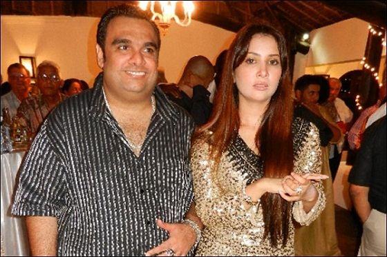 Kim Sharma with Ali Punjani
