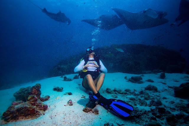 Kubra Sait Scuba Diving