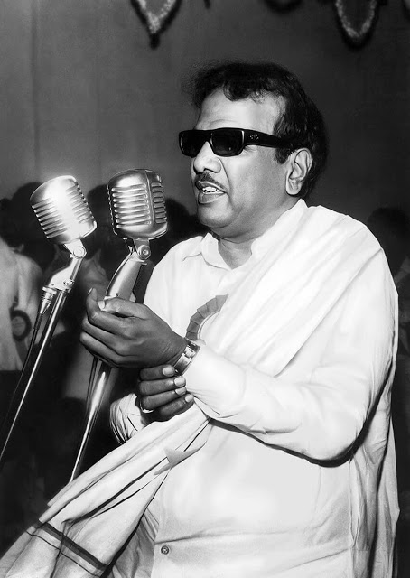 M. Karunanidhi as Politician