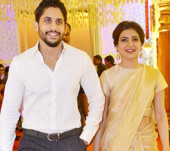 Samantha with Husband Naga Chaitanya