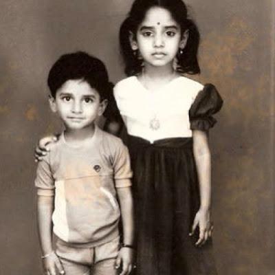 Nani with Sister