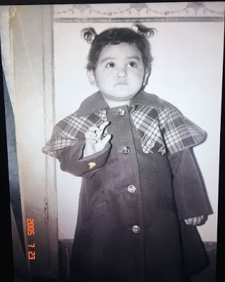 Neeti Mohan Childhood Picture