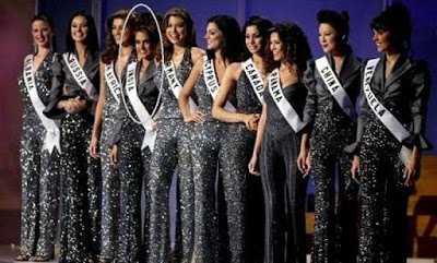 Neha in Miss Universe Top 10