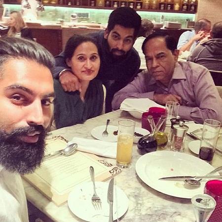 Parmish Verma Family