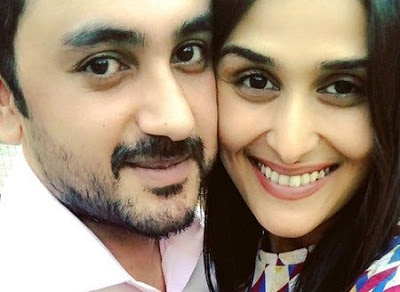 Poorna Patel With Namit Soni