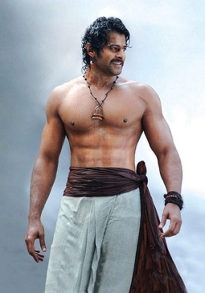 Prabhas fitness in Bahubali movie