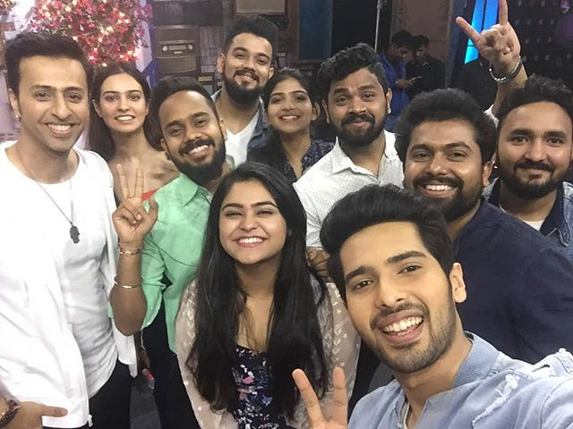 Prateeksha in Armaan Mallik team on The Voice 2019