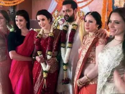 Rahul tied the knot with Natalya Ilina