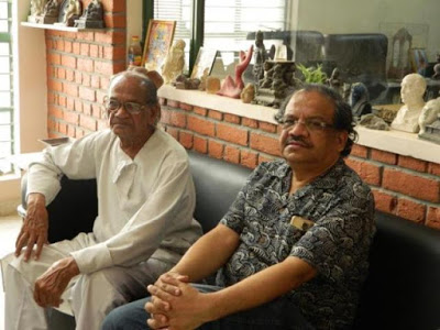Ram V Sutar with Anil Sutar