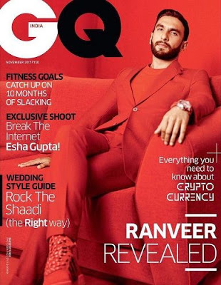 Ranveer in GQ magazine