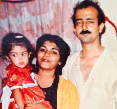 Rhea Chakraborty Childhood Photo