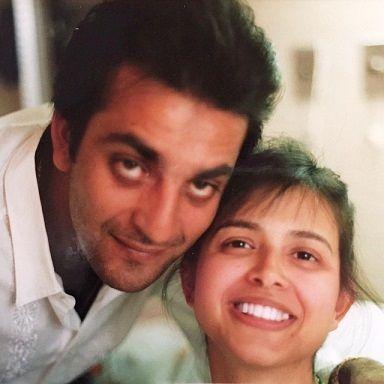 Richa Sharma with her husband Sanjay Dutt