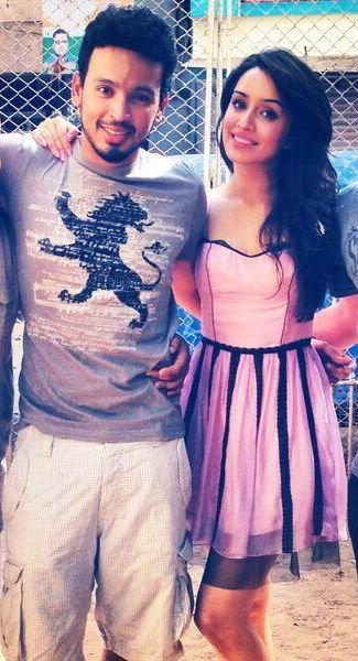 Rohan with girlfriend Shraddha Kapoor photo