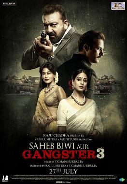 Saheb, Biwi Aur Gangster 3 poster