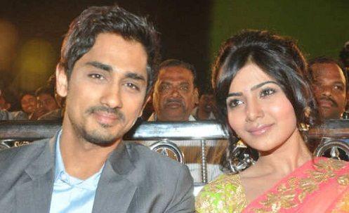 Samantha dated Siddharth Suryanarayan