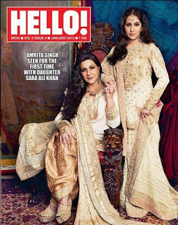 Hello Magazine with Amrita and Sara