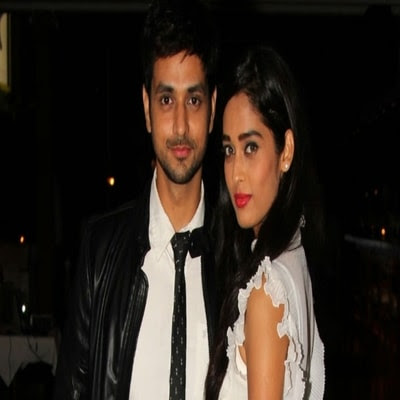 Shakti Arora with his wife Neha Saxena