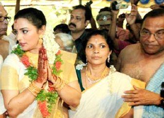 Shweta Menon Marriage