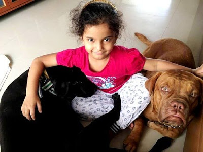 Sonakshi Save with Dogs