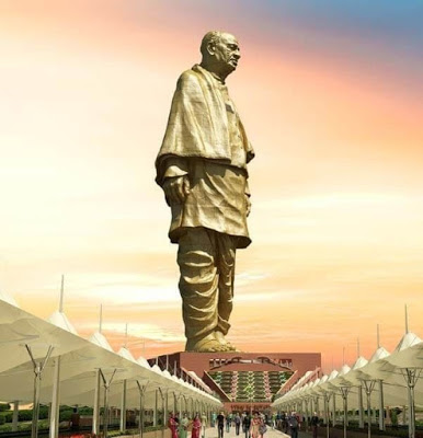 Statue of Unity created by Ram Sutar