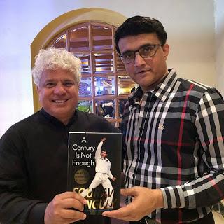 Suhel Seth with Sourav Ganguly