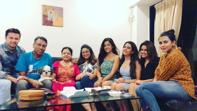Tanushree Dutta Family