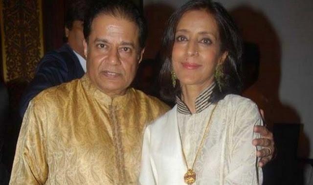 Anup Jalota married Medha Gujral