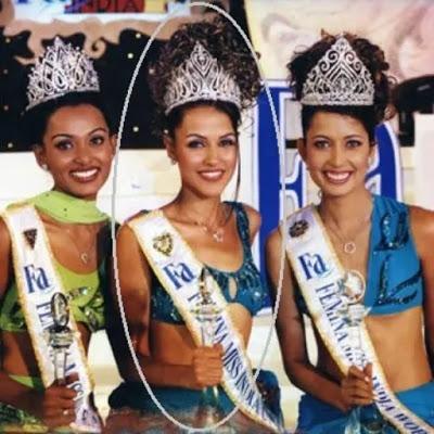 Neha in Femina Miss India Universe