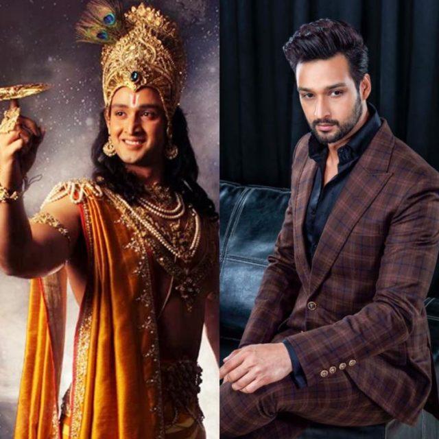 Sourabh Raaj Jain in Mahabharat as Lord Krishna/Lord Vishnu.