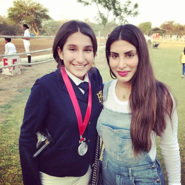 Priya Sachdev with her daughter Safira Chatwal