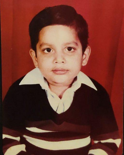 Tanmay Bhat Childhood photo