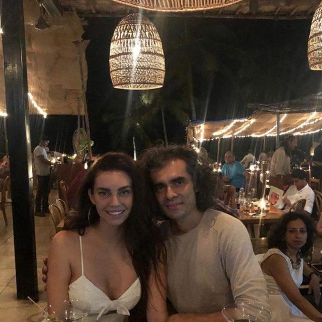 Imtiaz Ali with Sarah Todd
