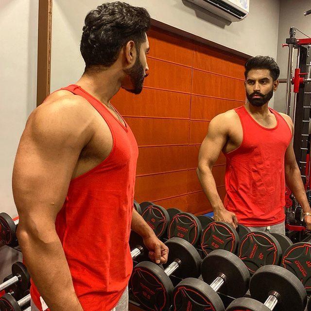 Parmish Verma in a Gym