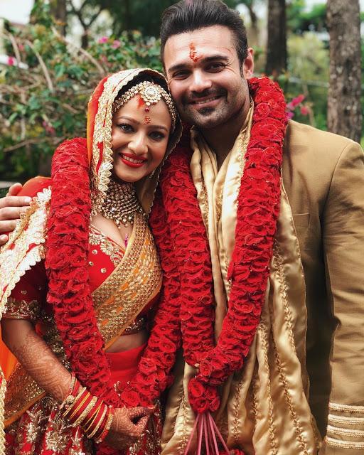 Madalsa Sharma is married to Mahaakshay Chakraborty